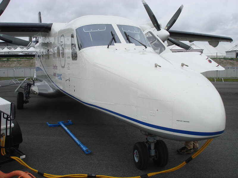 Модернизированный самолет Dornier 228NG от компании RUAG