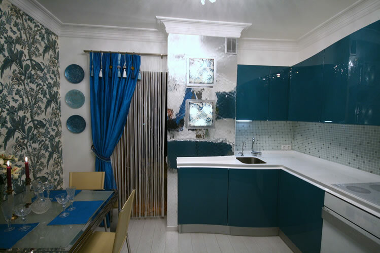 Школа ремонта маленькой кухни