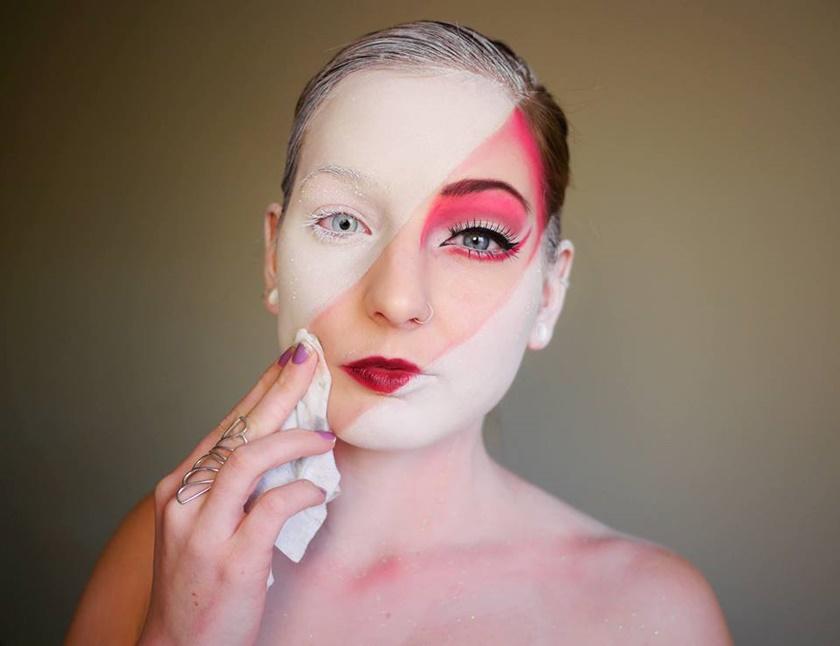Девушка потрясающе меняет свое лицо с помощью макияжа 0 14223e d283c95f orig