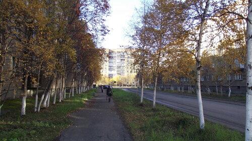 Фото города Инта №1499  Аллеи за домами Воркутинская 15 и 16, по центру Мира 38 14.09.2012_15:19