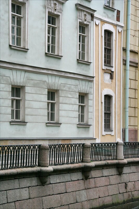 Фрагмент Зимнего дворца Петра I в здании Эрмитажного театра