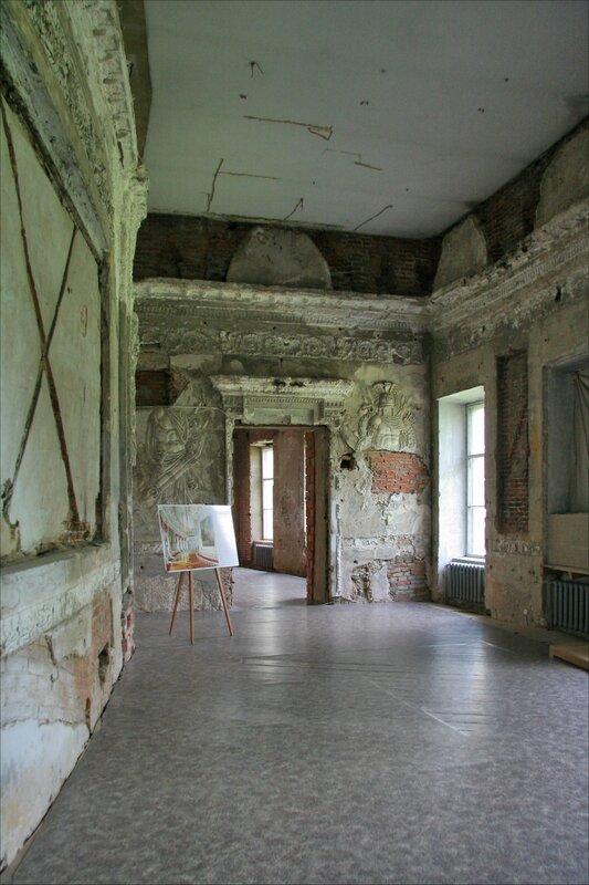 Гатчинский дворец, Чесменская галерея