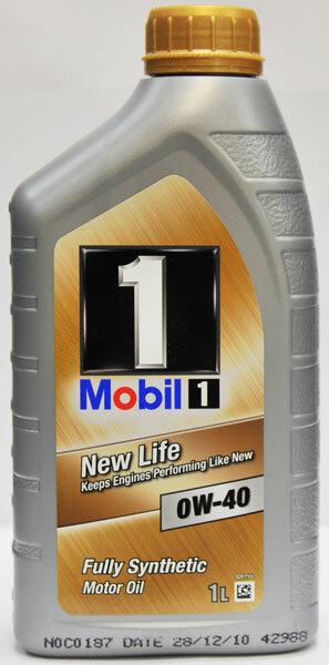 Масло моторное Mobil 1 NEW LIFE 0W-40 синтетика (1 л)
