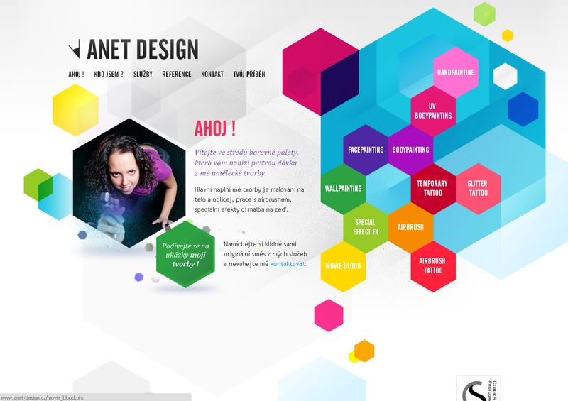 Нестандартный дизайн сайта