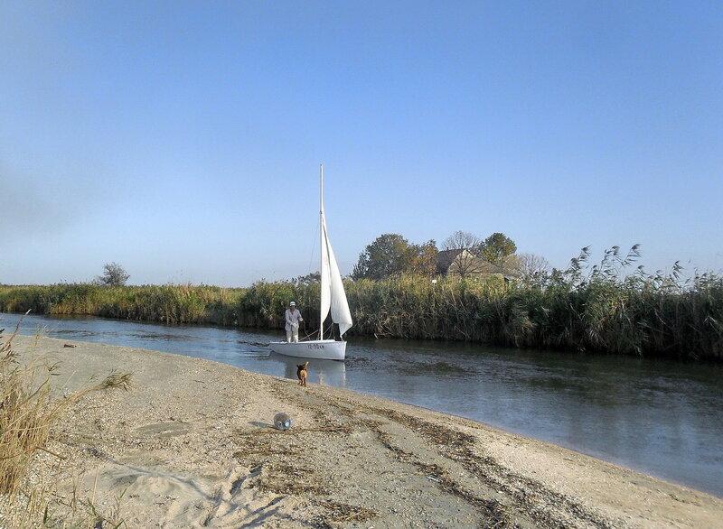 Картинки яхтенного похода, сентябрь 2012