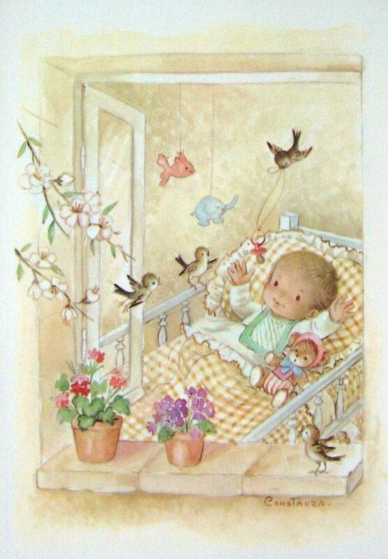 Написать, открытки с новорожденным старинные