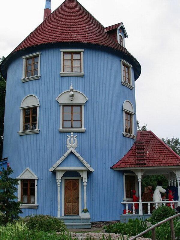 Парк Муми-троллей. Фнляндия