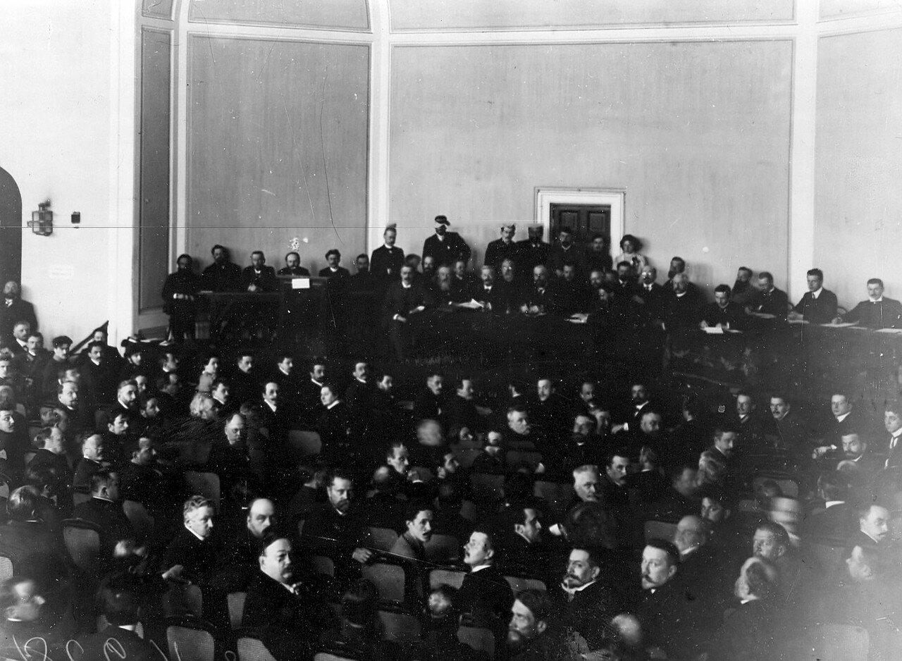 1906. Президиум совещания выборщиков в Первую Государственную думу в Тенишевском училище