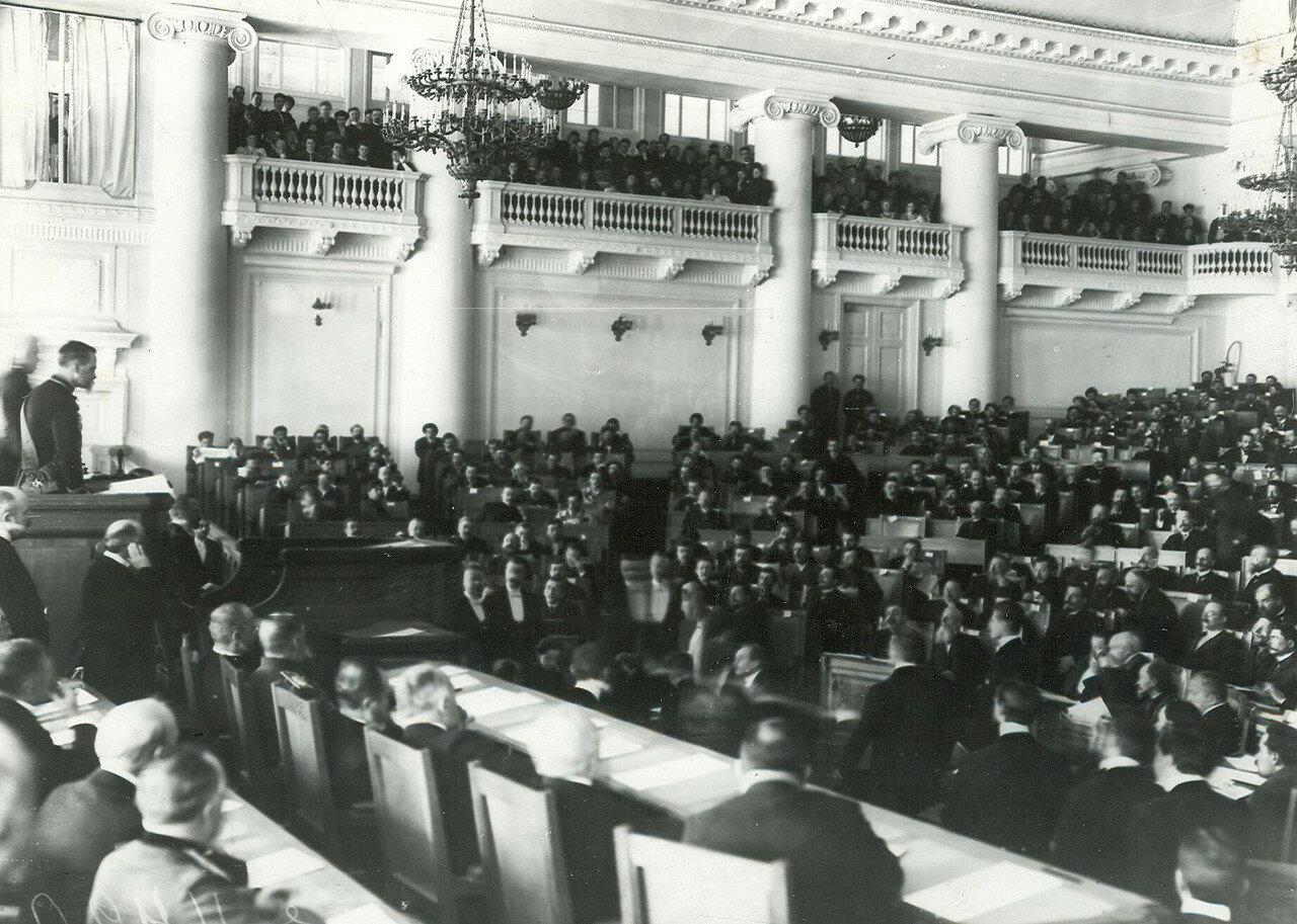 20. Торжественное собрание в день открытия Второй Государственной думы в зале Таврического дворца
