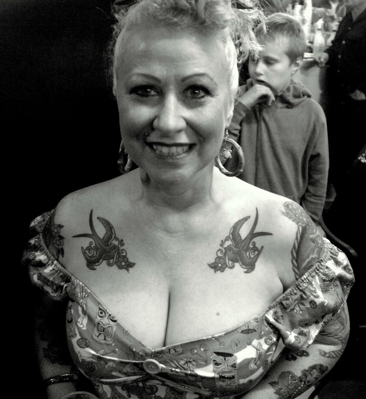 Портрет татуировщицы