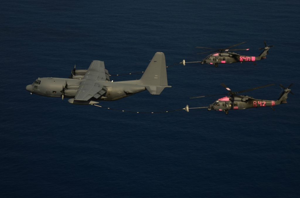 129th Rescue Wing- Ecuadorian fishermen rescue.