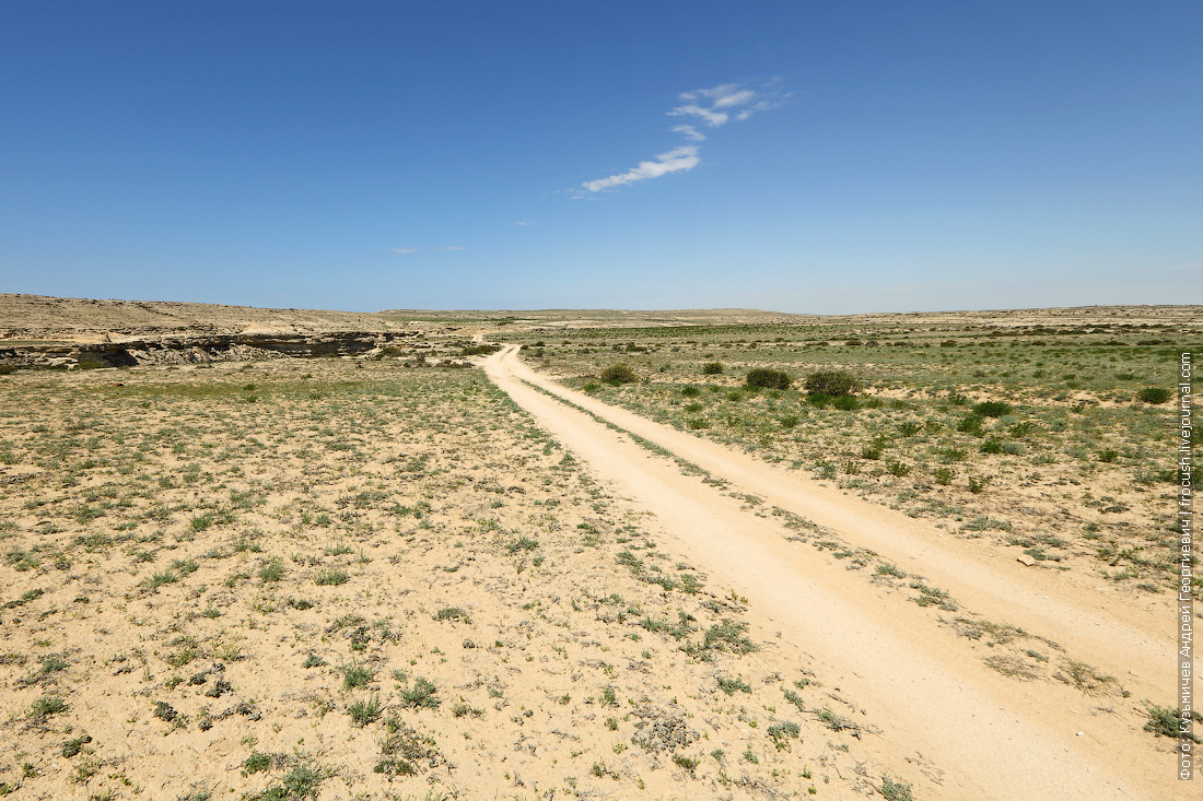 дорога у каньона Саура