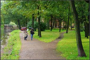 Лопухинский сад. Сентябрь 2012.