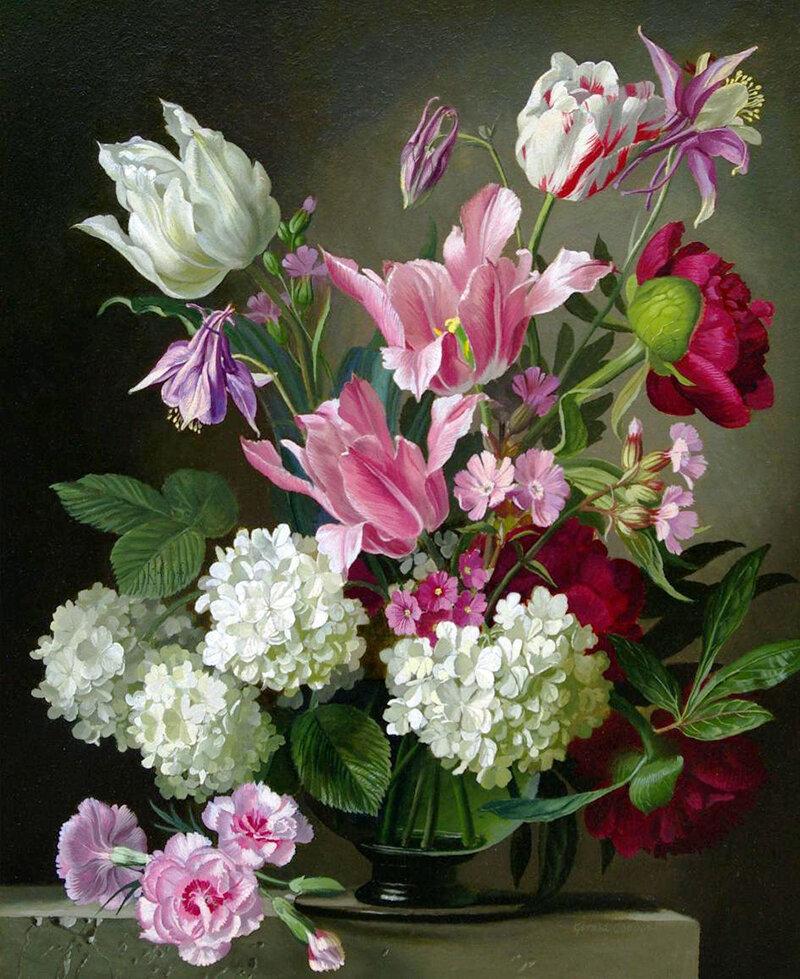大师们的静物花卉 - casper - 二手书店正式开张*