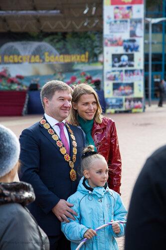 Максимов Юрий Владимирович мэр Балашиха день города 2012 фотограф Петров Игорь