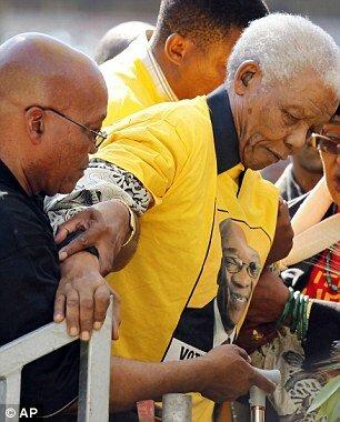 Как президент ЮАР заботится о своем народе