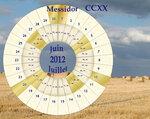 месидор CCXX года (июнь-июль 2012)