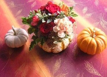 Поделки из декоративной тыквы грибок - Поделки своими руками