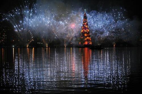 Рождественская елка в Рио
