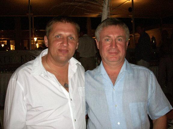 Александр Карпенко и Юрий Маслов