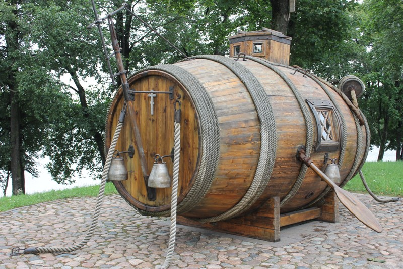 Первая российская подводная лодка