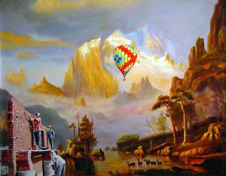 Цветные полотна. Shay Kun 5