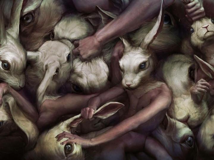Ryohei Hase. Современный художник из Японии 13