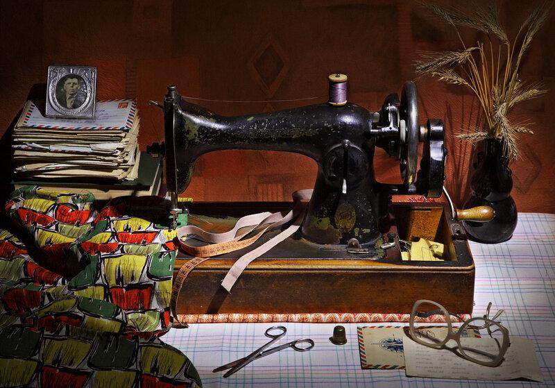 Картинки со швейными машинками