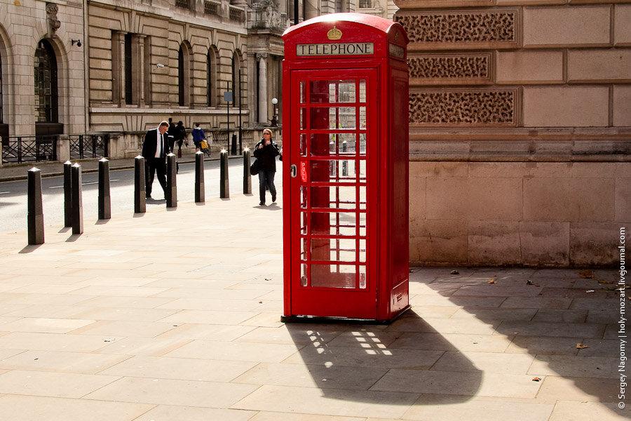 О телефонных будках Лондона