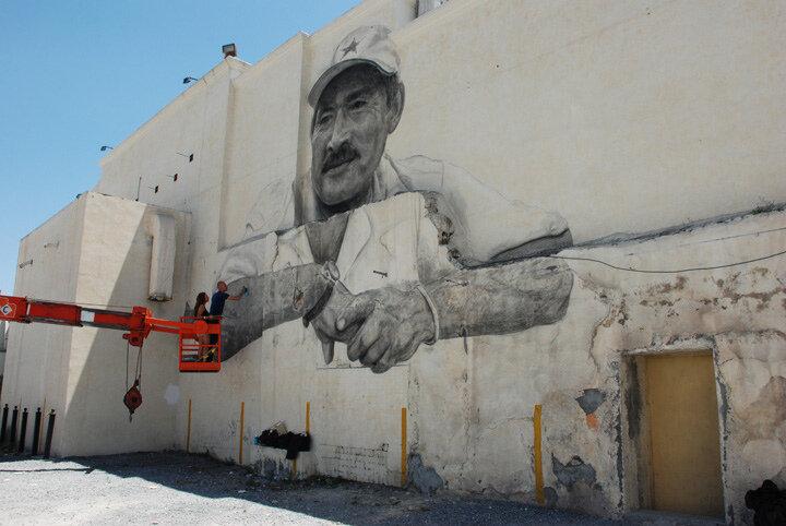 Уличное искусство. Jorge Rodriguez-Gerada 19