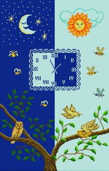 Замечательный буклет для вышивки крестиком Название: Night and day Автор: коллектив Издательство: Club point de croix...