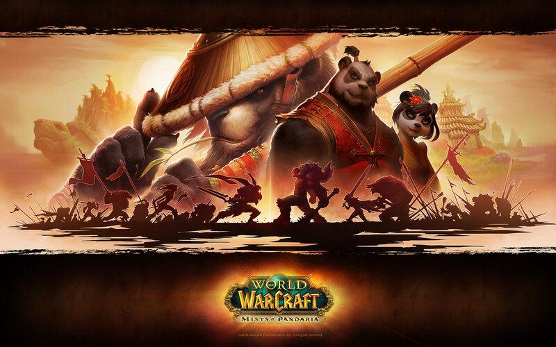 ВоВ Туманы Пандарии Пандария обои WoW World of Warcraft Mists of Pandaria MiP wallpaper 2012