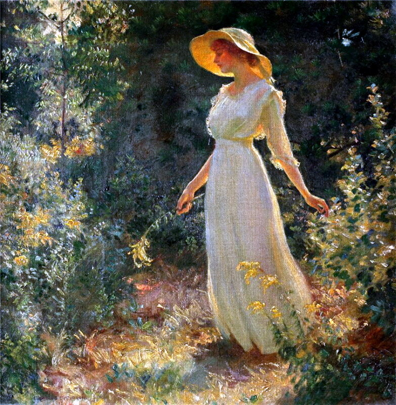 Charles Courtney Curran 1918.��� ������, ��� ����� ���� ����