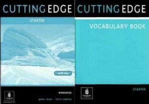 Книга Cutting Edge - Starter - Workbook with key and Vocabulary Book