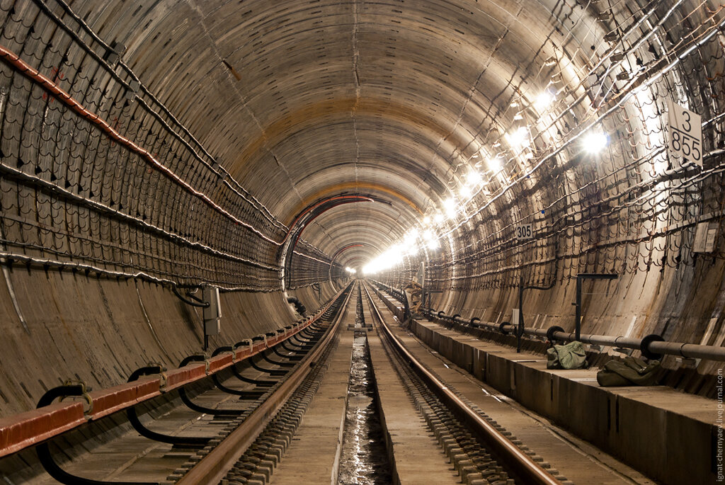 метрострой спб тоннель