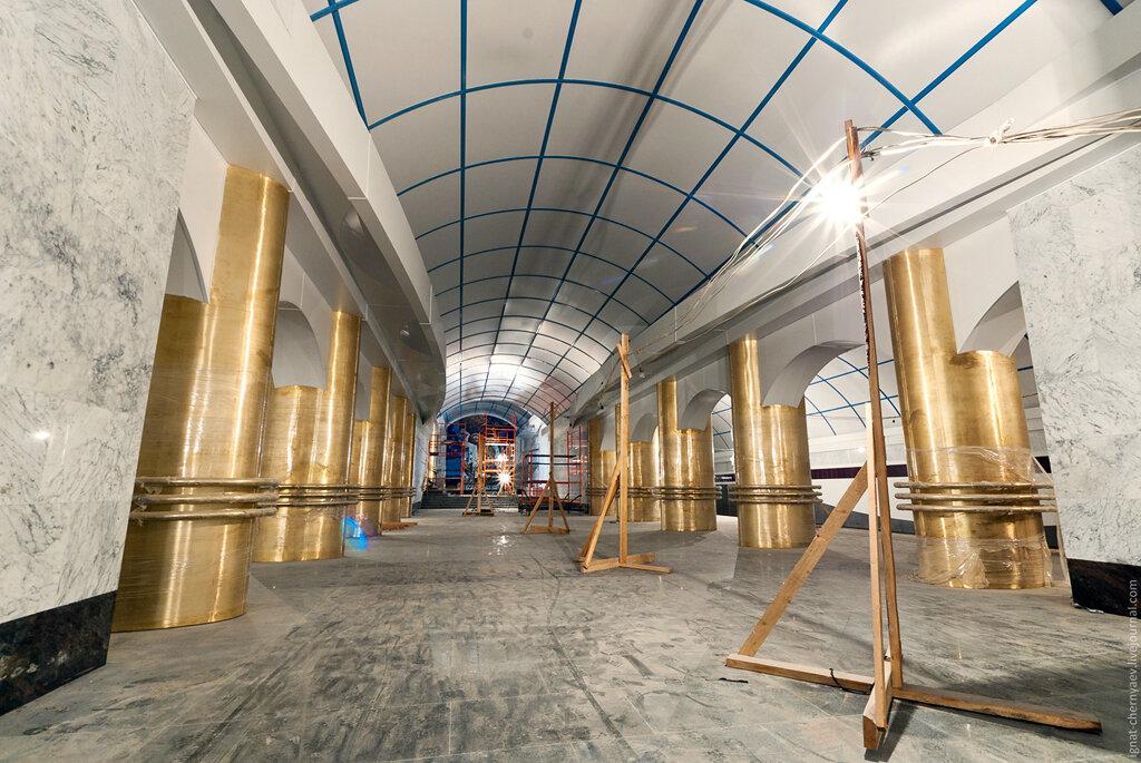 станция метро международная петербург