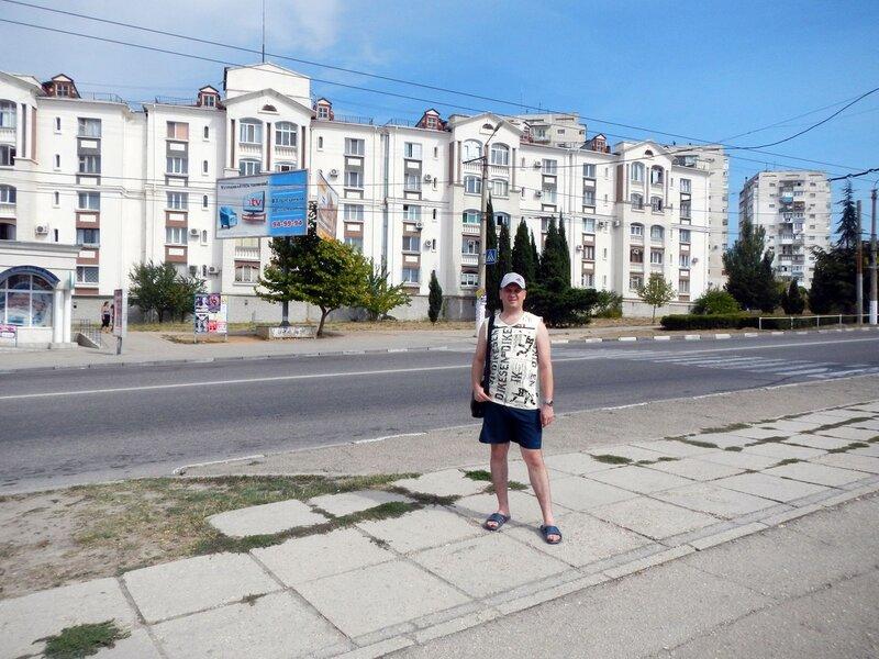 городская застройка Севастополя. Чем не Испания?