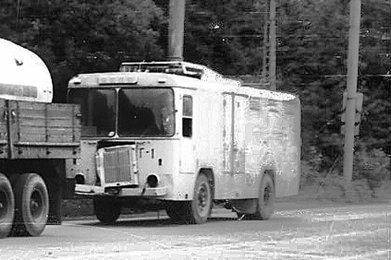 Грузовой троллейбус Г-1. Фото В.Дорошенко, 1992г., (с) bel-trolly.narod.ru