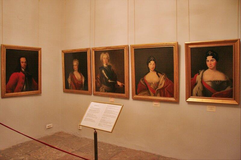 Зимний дворец Петра I. Портреты