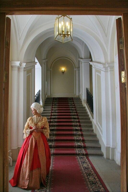 Гатчинский дворец, Парадная лестница