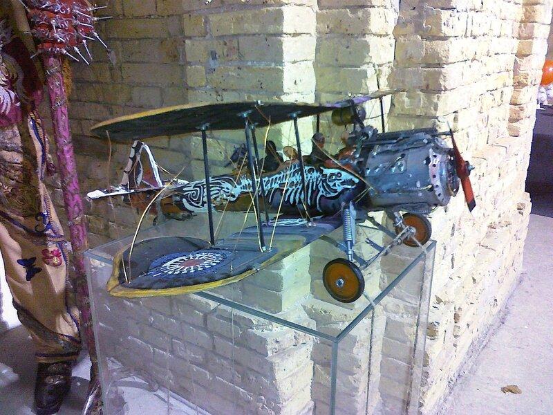 Инсталляция Самолет
