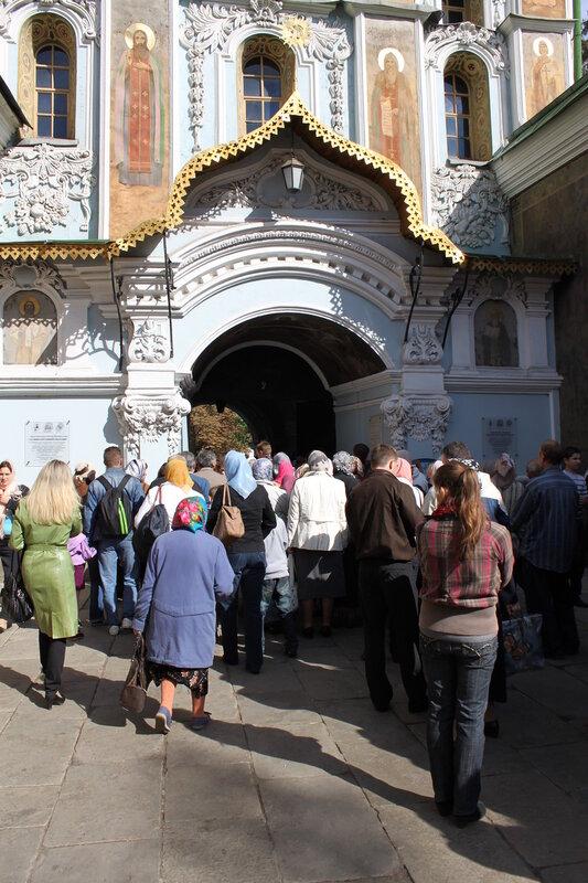 Главный вход в Печерскую Лавру