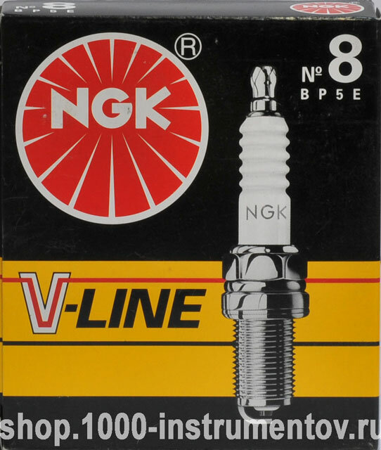 Свечи зажигания NGK V-line № 8 (BP5E) 406дв. карбюратор
