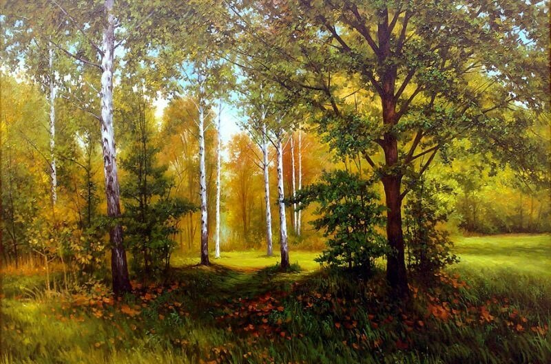 Шевчук Николай.  Осенний лес