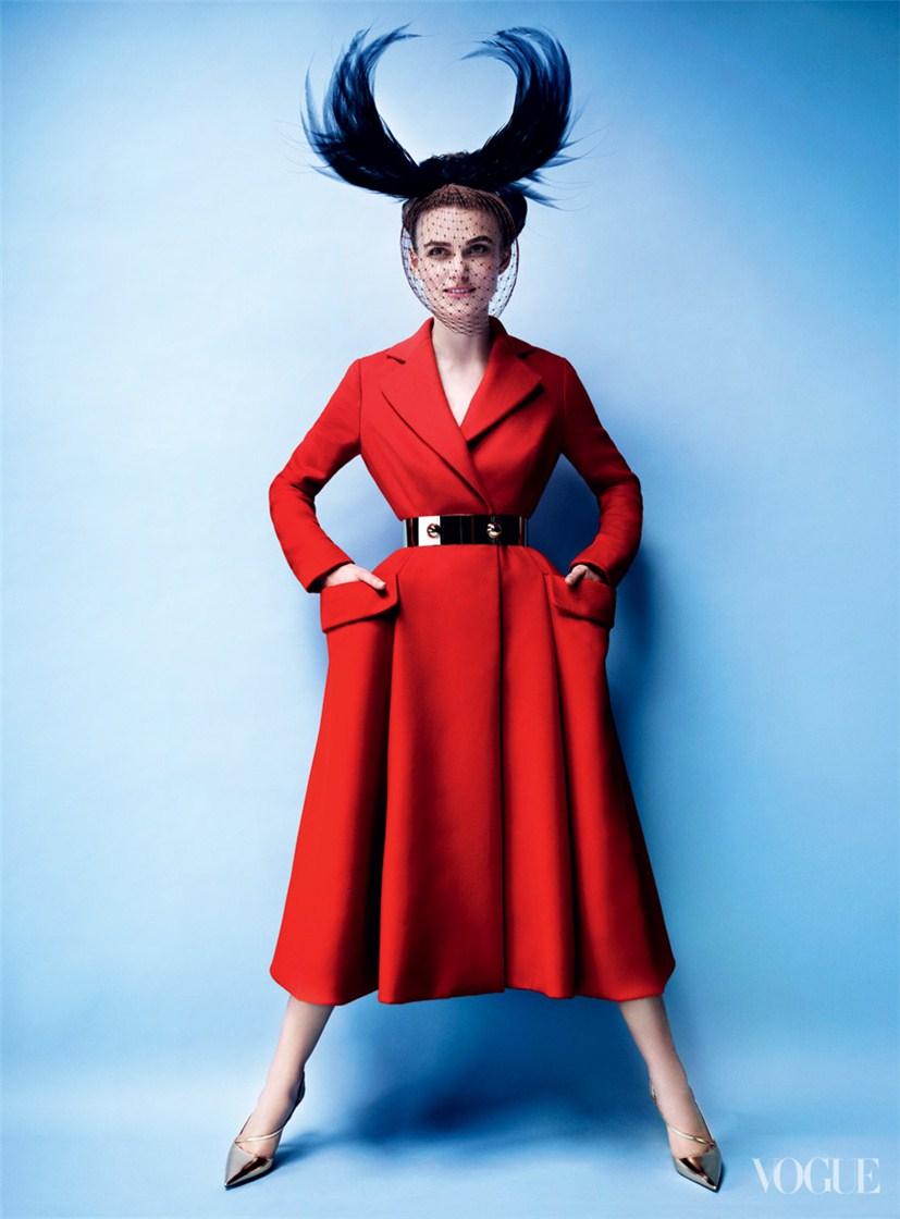 Keira Knightley / Кира Найтли в образе Анны Карениной в журнале Vogue US, октябрь 2012 / фотограф Mario Testino