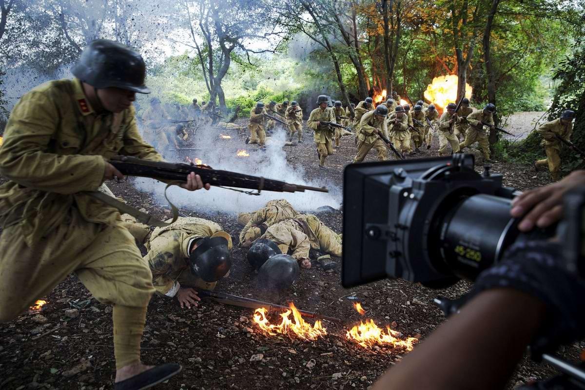 Война и немцы: На съемках китайского телесериала о 2-й мировой войне (3)