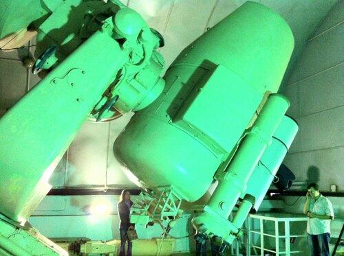 Чугунный телескоп
