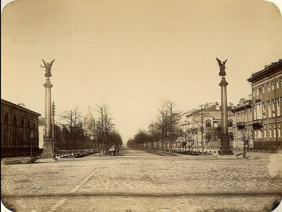 27. Конногвардейский бульвар. 1857-1868