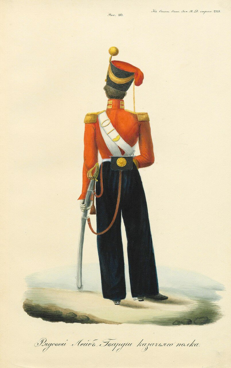 31. Рядовой Лейб-гвардии казачьего полка