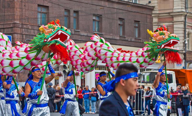 Китайские драконы